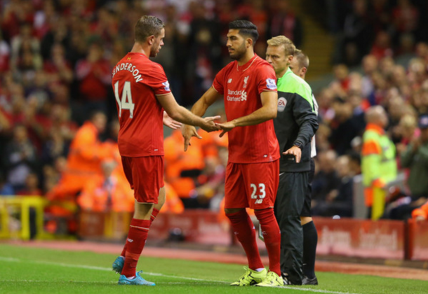 Can is much more adept at the holding midfield role than Henderson. (Picture: Getty Images)
