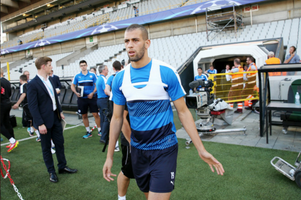 Slimani could come in for his first appearance for the Foxes. (Picture: Plumb Pictures/Getty Images)