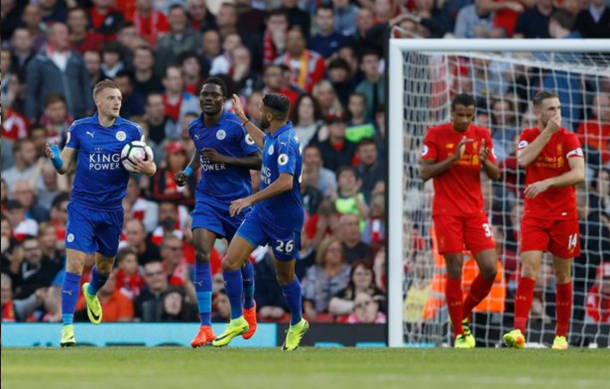 Vardy has already scored three goals this season, including one on Saturday. (Picture: Getty Images)