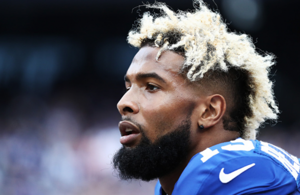 OBJ finished with 222 receiving yards in the game (Photo: Michael Reaves/ Getty Images)