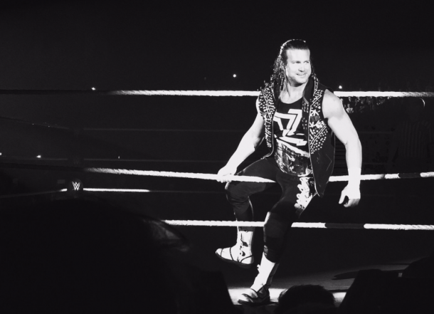 Ziggler defeated The Miz in Newcastle (Photo: Twitter)