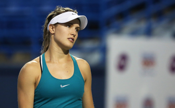 Bouchard has had an up and down last two years after her breakout 2014 (Adam Glanzman/Getty images)