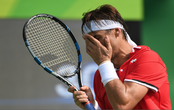 Ferrer was upset in the second round of the Olympics in Rio this past summer (Roberto Schmidt/AFP/Getty Images)