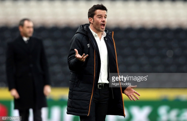 This is just new Hull manager Marco Silva's second game in charge. (photo: Getty Images)