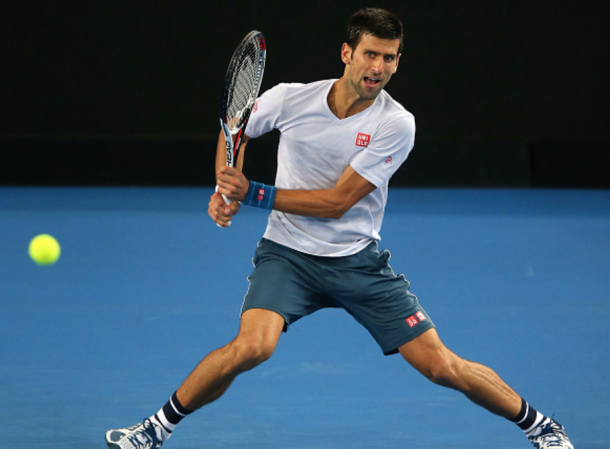 Novak Djokovic is looking for a third straight and seventh overall Australian Open title (Michael Dodge/Getty Images)