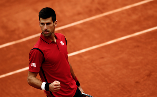 The darker shade of red was fine despite the red clay (Nurphoto/Getty Images)
