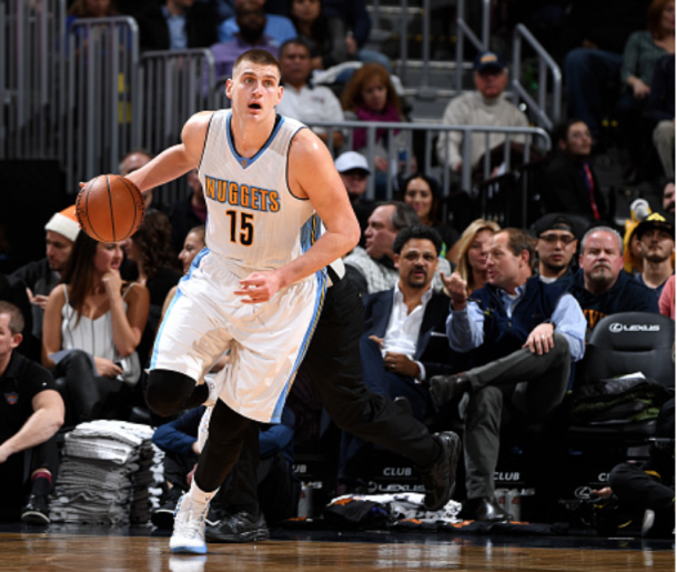 Nikola Jokic has elevated his play in a major way since the beginning of January. (Photo by Garrett Ellwood/Getty Images)