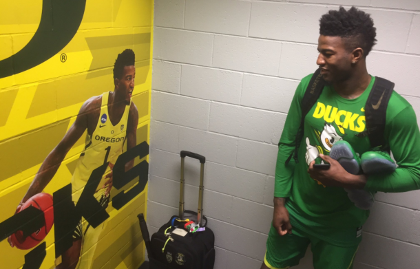 Jordan Bell is the key for the Ducks | Photo: Zimbio
