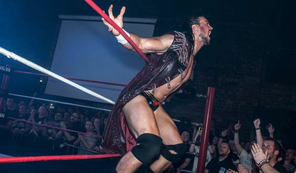 Galloway became a star in ICW following WWE release (image: David Wilson)
