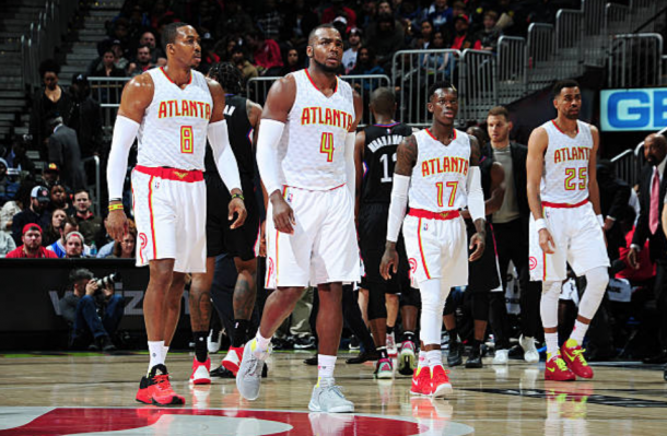 The core of the new-look Hawks team outperformed expectations early in the season. (Photo by Scott Cunningham/Getty Images)