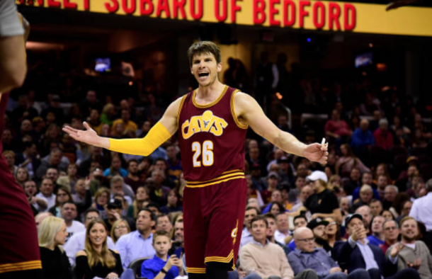 The Korver trade shocked the entire NBA world. (Photo by Jason Miller/Getty Images)