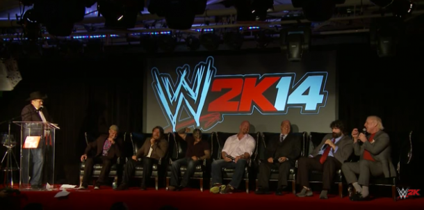 Ric Flair went on several rants during a Q&A to promote WWE 2K14 (IMAGE: youtube)