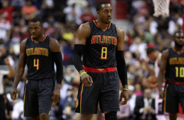 Howard may not be the only Hawks starter to switch teams this offseason. (Photo by Rob Carr/Getty Images)