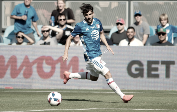 David Villa in the 2016 MLS All Star Game. | Photo: Lyndsay Radnedge