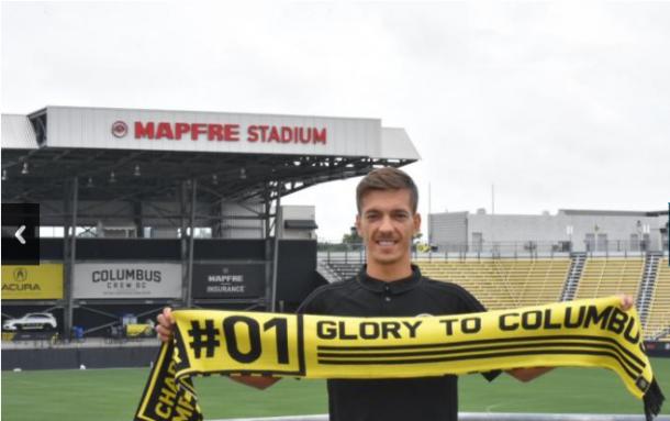 Pedro Santos is Columbus Crew SC's third designated player. | Source: Alena Schuckmann - ColumbusCrewSC.com