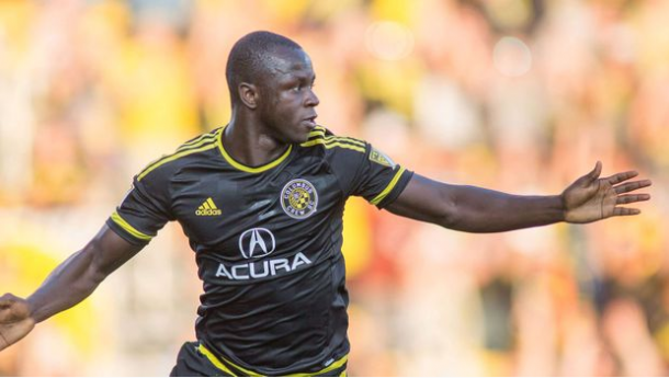 Kekuta Manneh scored the equalizer goal in Crew SC's match against the Chicago Fire. | Source: MLS Soccer