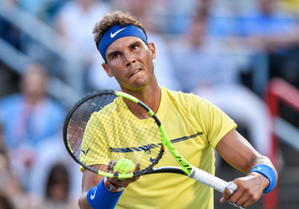 Rafael Nadal looks to bounce back from an early Coupe Rogers exit (Getty Images Sport Minas Panagiotakis)