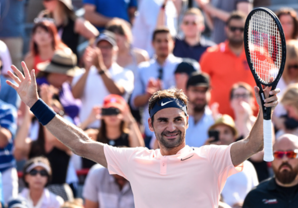 Roger Federer hopes to capture the world number one title here in Cincy (Getty Images Sport Minas Panagiotakis)