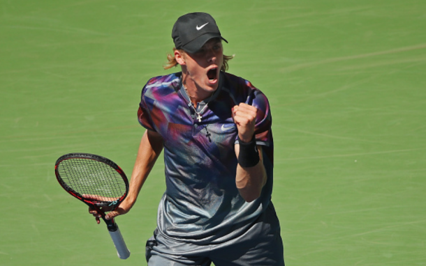 The young Canadian Shapovalov most likely has the most well-rounded game in terms of power, movement, and intangibles (Clive Brunskill/Getty)