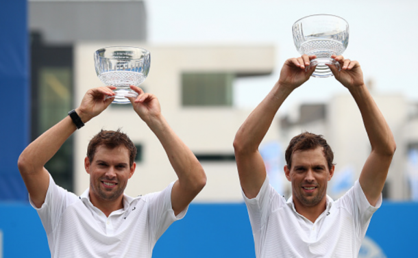 The Bryans won their first title of the year in Eastbourne (Charlie Cowhurst/Getty Images)