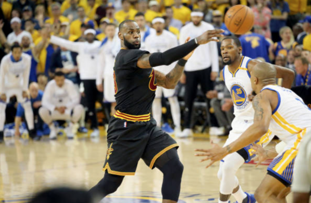 LeBron James isn't ready to give up his crown just yet. (Photo by Bruce Yeung/Getty Images)