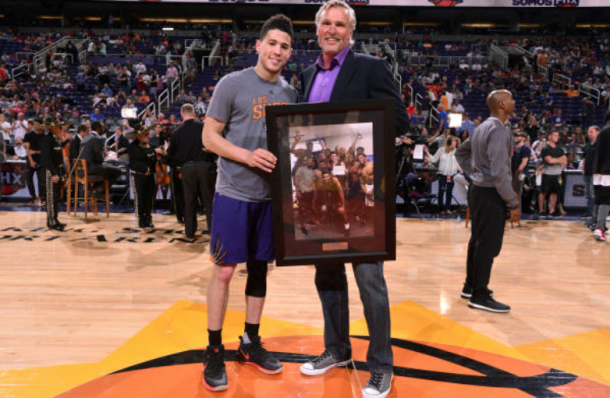 Kevin Booker's unbelievable 70-point game caught the attention of the entire basketball world. (Photo by Barry Gossage/Getty Images)