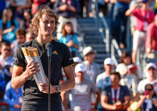 Zverev claimed his second Masters title in Montreal (Minas Panagiotakis/Getty Images0