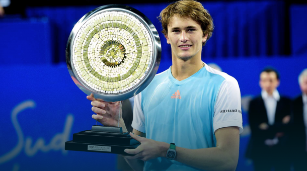 The first of four titles on the year for Zverev came in Montpelier (ATP World Tour)
