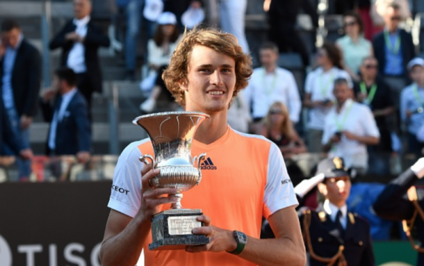 Zverev claimed his first Masters title in Rome (Anadolu Agency/Getty Images)