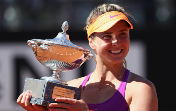 Svitolina captured a second Premier 5 title of the year in Rome (Michael Steele/Getty Images)