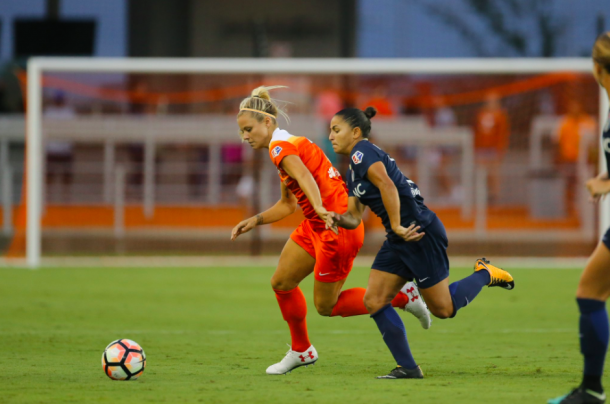 The Houston Dash stand with 23 points and 7-14-2 | Source: Houston Dash - Twitter