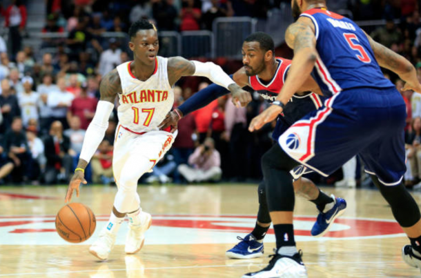 Dennis Schroder will be given the keys to the kingdom this season, but can he capitalize on the opportunity? (Photo by Daniel Shirey/Getty Images)