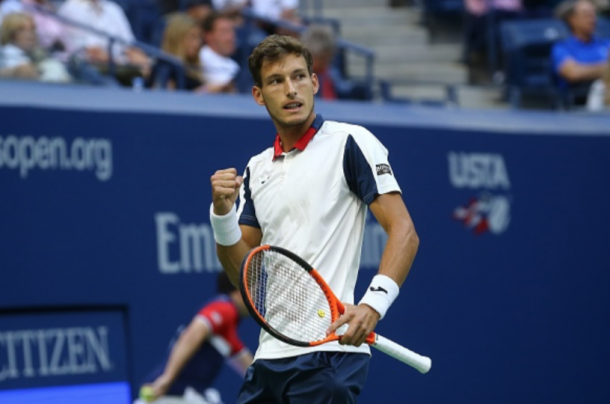 Carreño Busta's run to the US Open semifinals has given a fantastic shot to book a spot at the O2 (Anadolu Agency/Getty Images)