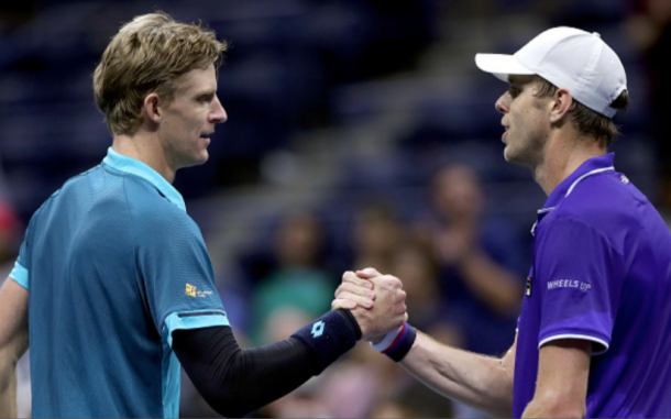 Anderson and Querrey met in the US Open quarterfinals and will now battle it out to see if one of them can make the O2 (Matthew Stockman/)