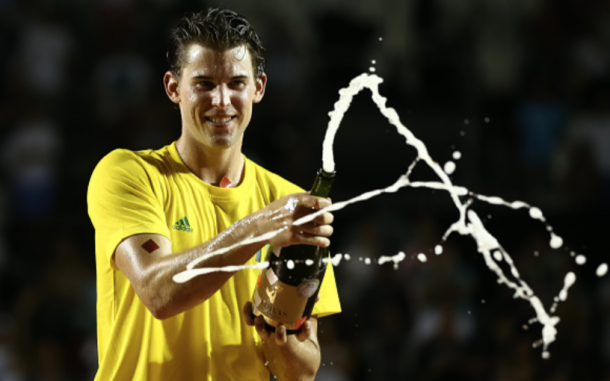 Thiem celebrates his title in Rio (Buda Mendes/Getty Images)