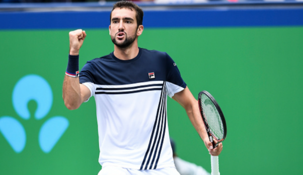 Cilic is one win away from booking his spot at the World Tour Finals (Xin Li/Getty Images)