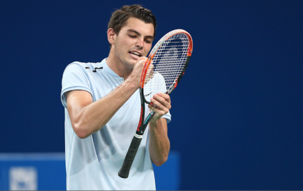 Fritz had a solid run in Chengdu a few weeks ago (Zhong Zhi/Getty ImageS)