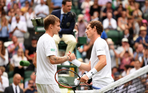 Bublik played well vs Andy Murray (David Ramos/Getty Images)