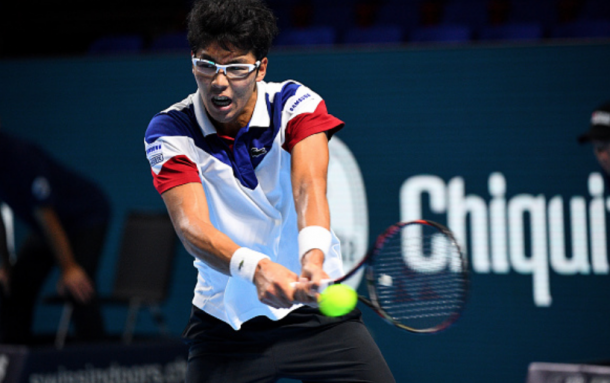 Chung will look to push Nadal even more this time in their second career meeting (David Emm/Actionplus/Getty Images)