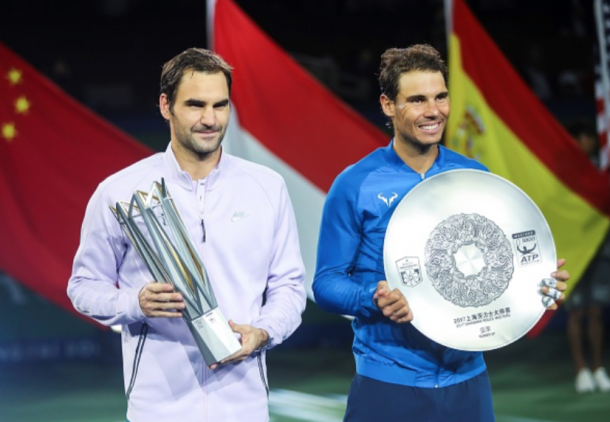Federer captured a third Masters title of the year in Shanghai (Anadolu Agency/Getty Images)