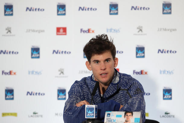 Thiem is hoping to right the ship in London