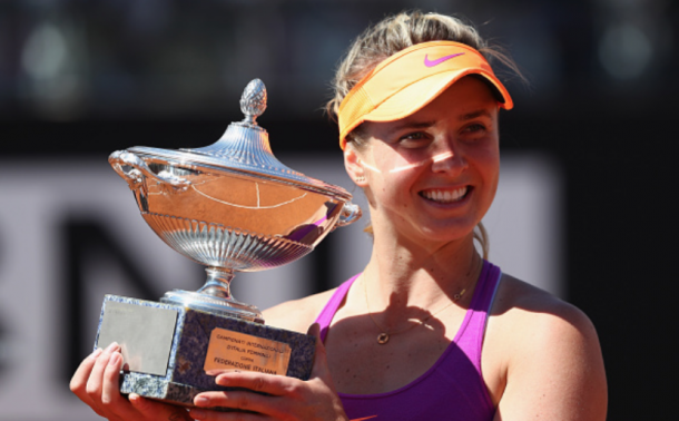 Svitolina's second Premier 5 title came in Rome (Michael Steele/Getty Images)