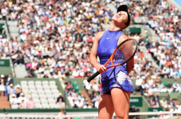 Disappointment struck for Svitolina as she squandered a set and double break lead to Halep in the French Open quarterfinal (Dave Winter/Icon Sports/Getty Images)