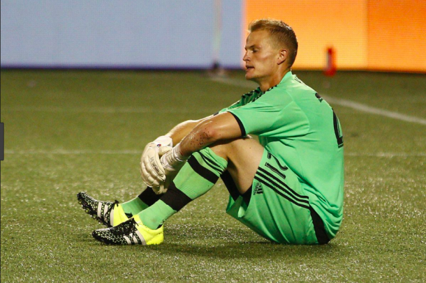Jon Kempin acquired by Columbus Crew SC after having option declined by the Galaxy. | Photo: Reinhold Matay - USA Today Sports
