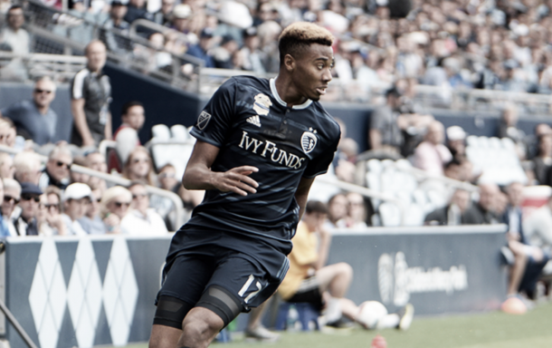 Saad Abdul-Salaam. | Photo: Sporting Kansas City