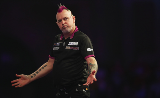 Peter Wright will definitely be one to watch in the Premier League, not only for his darts but his fantastic hair too (Naomi Baker/Getty Images)