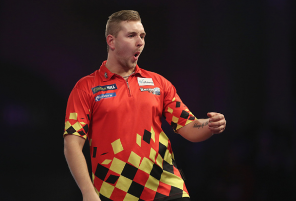 Dimitri van den Bergh is one of the tour's rising stars and showed what he's capable of at the World's (Adam Davy/PA Images/Getty Images)
