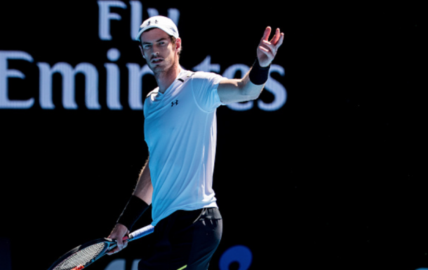 Murray exited earlier than expected at last year's Australian Open (Icon Sportswire/Getty Images)