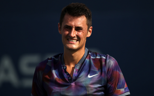 Tomic's last Grand Slam was at the US Open when he lost in the first round (Clive Brunskill/Getty Images)