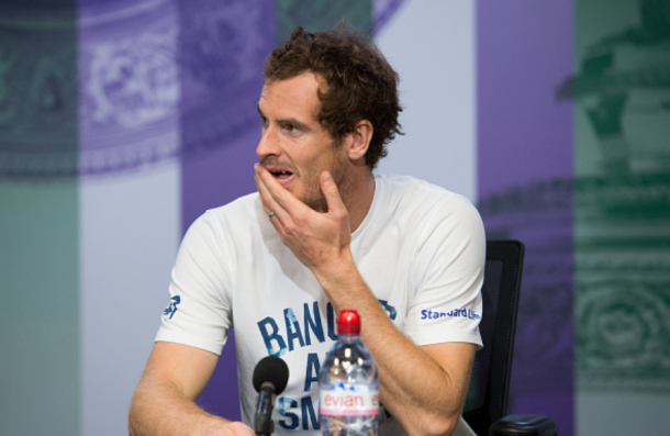 Murray last played a competitive match in Wimbledon (Pool/Getty Images)